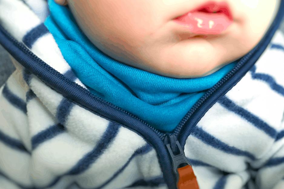 Halssocke nähen – kostenlose Anleitung und Schnittmuster