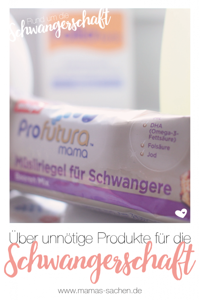 Mamas Sachen Produkte für Schwangere