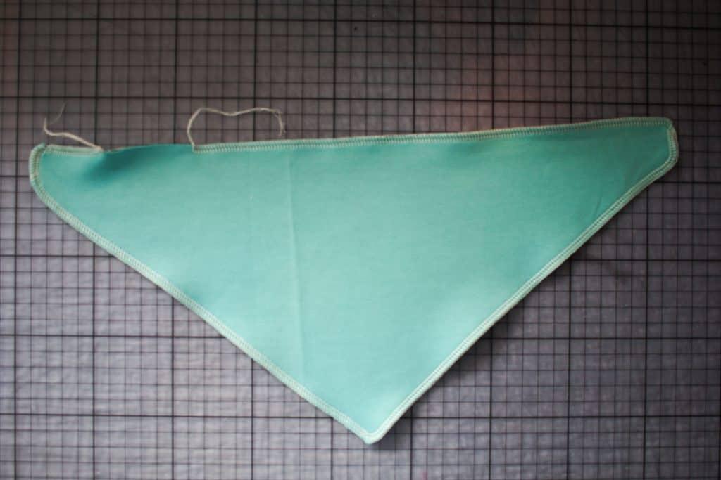 schnelles Halstuch kostenloses Schnittmuster mit Anleitung