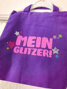 """Plottdatei """"Mehr Glitzer"""" Freebie Mamas Sachen Sterne Statement Plotten Plotter Plottdesign"""
