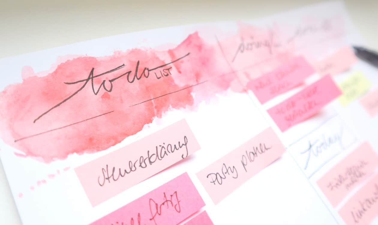 ToDo, todoliste, done, done-Liste, Vorlage, Download, Watercolor background, Lettering, Struktur, Alltag, Workingmom
