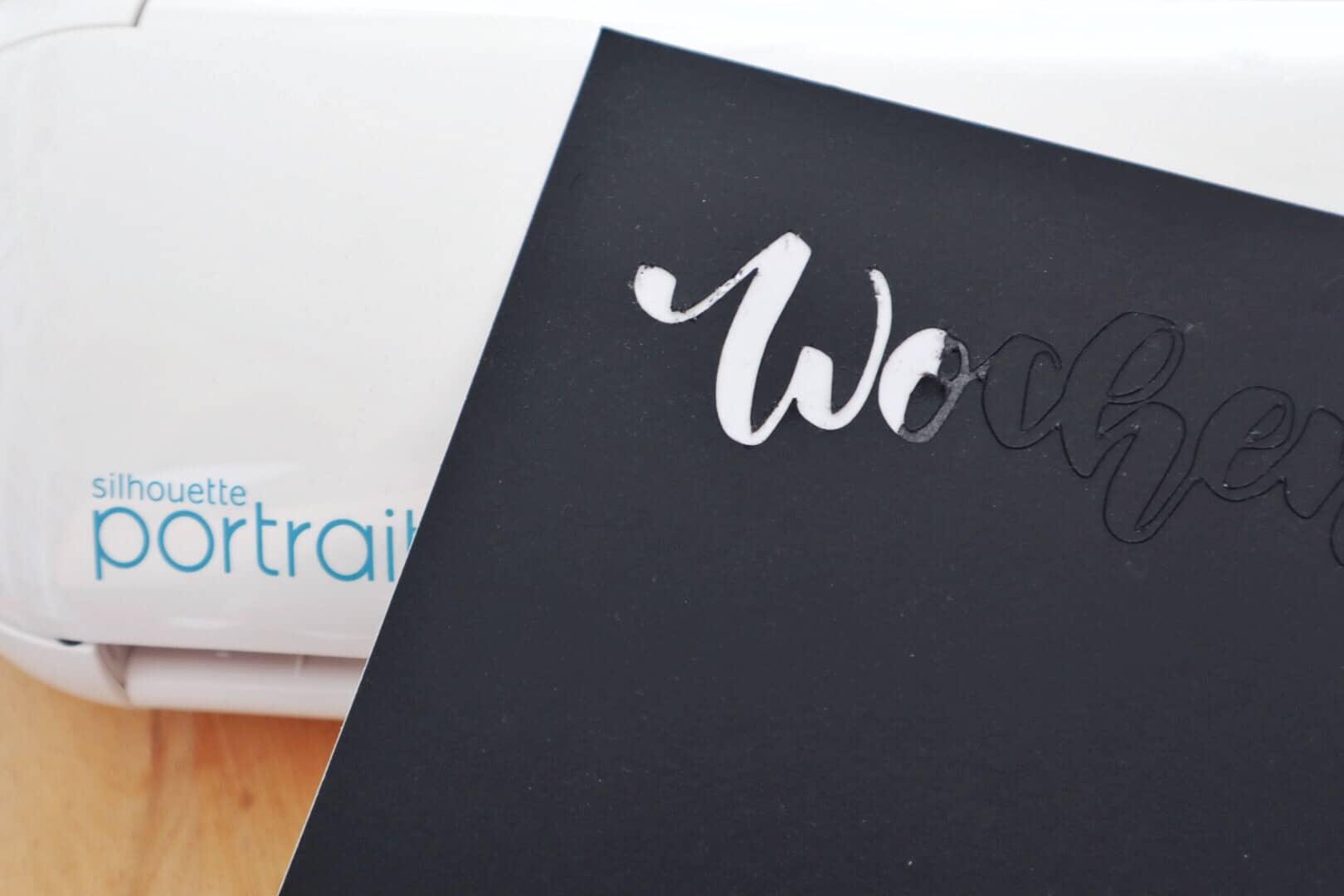 Plotten mit dem Tafelkarton von Silhouette | Plottbasics