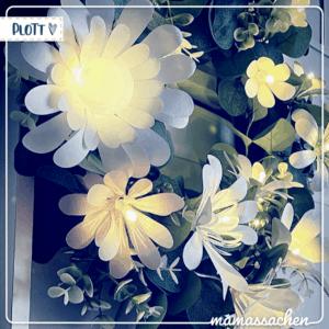 mamassachen - blumenwiese Lichterkette Blumen bluten