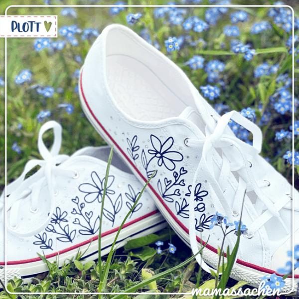 mamassachen Schuhe mini Blumenwiese