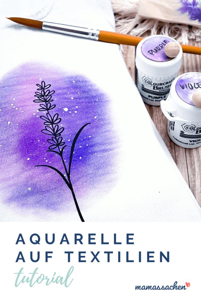 Tutorial Plotten mit Aquarellfarben | Plott plus Aquarelleffekt - wie und in welcher Reihenfolge? - was ist möglich?