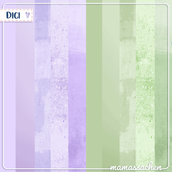 mamassachen Digipaper Lavendel jpg 300dpi lila violet grün